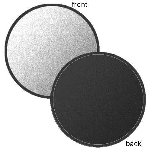 "Photoflex LiteDisc Circular Reflector, Black/Silver, 22"" (56cm)"