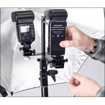 PHOTOFLEX Dual Shoe Flash Adapter Kit