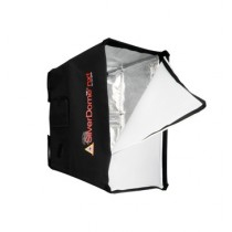 PHOTOFLEX SilverDome NXT SoftBox / Blitz / Halogen / Small-41x56x33 cm