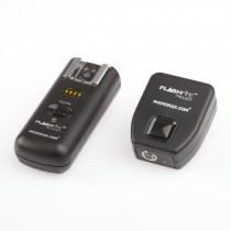 PHOTOFLEX FlashFire Radio Trigger (1) & Receiver (1) Kit, DC battery powered, 2.4GHz, 16-channel